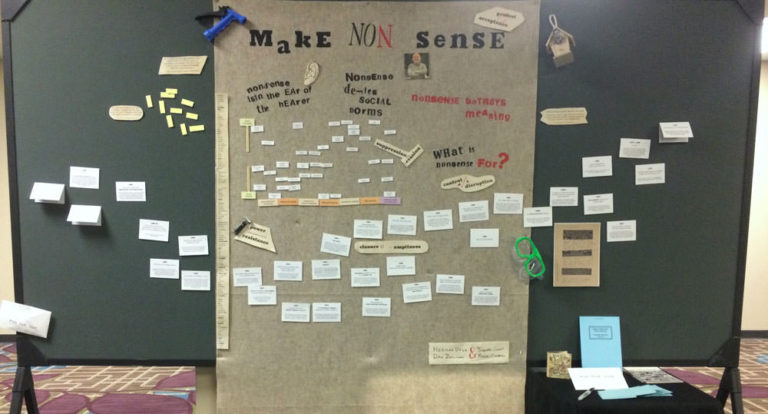 Make Non()sense poster