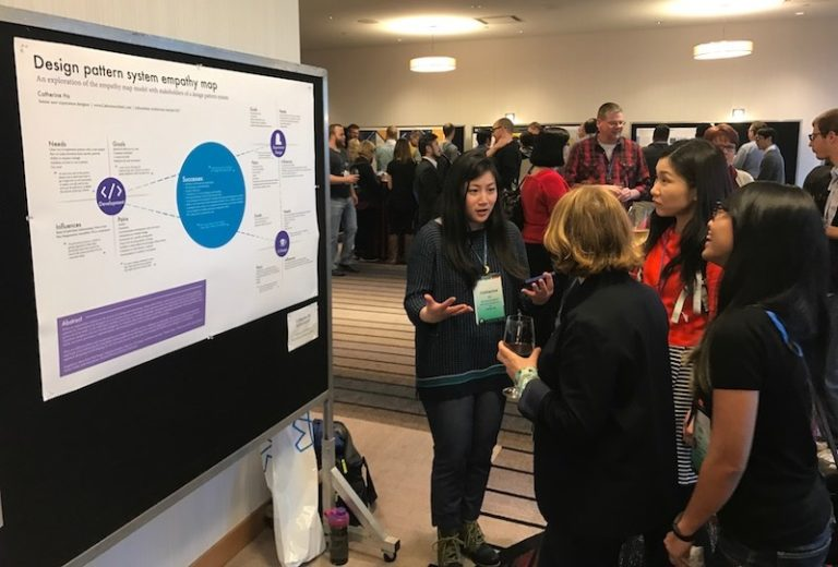 Image of IA Summit 2018 poster session