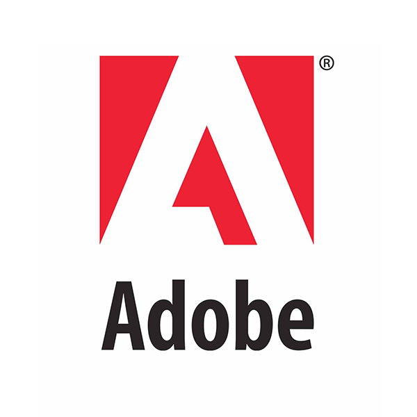 Logo for sponsor Adobe