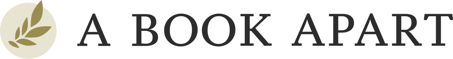 Logo for sponsor A Book Apart